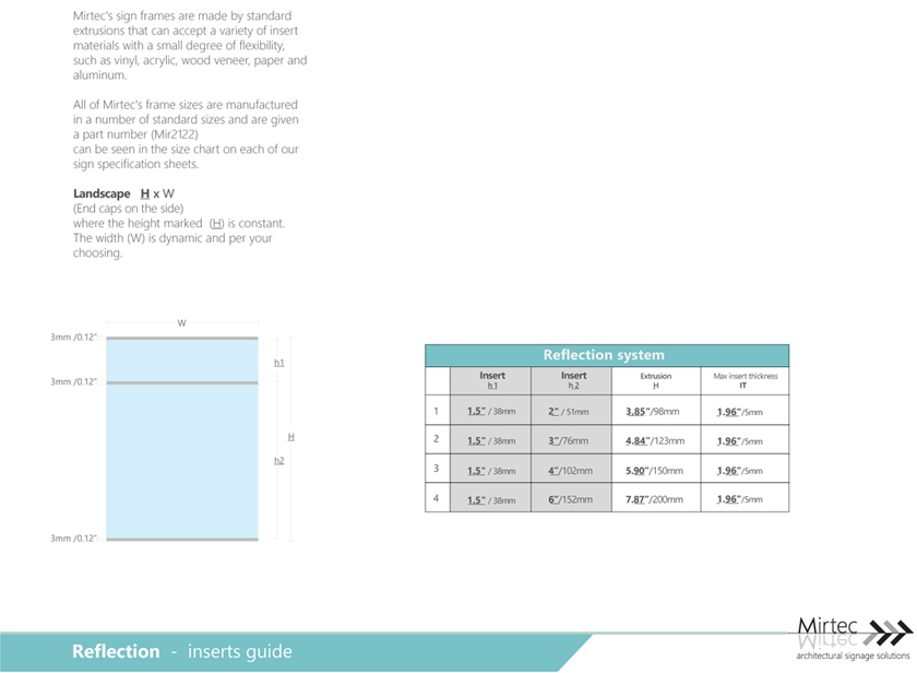 reflection-guide-insert-widths-and-thicknesses