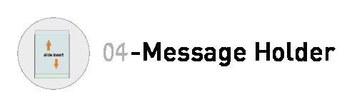 ref message holder 04-01