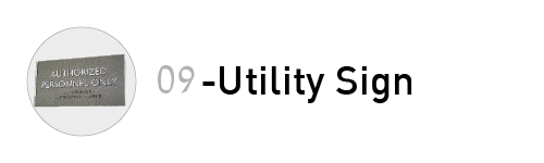 ref utility sign 09-01
